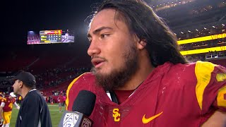 Kana'i Mauga on the 'team effort' after injuries continue for the Trojans