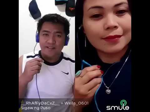 SIGAW NG PUSO ( duet with rhaffy )