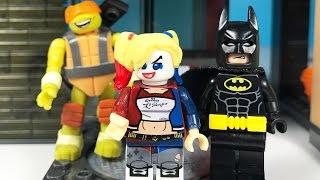 Lego Harley Quinn Pizzacı Bastı Batman Yardıma Koştu | Süper Oyuncaklar