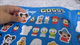 Colando figurinhas, Álbum Disney Gogos! Lu Collection