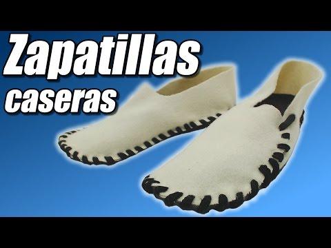 Zapatillas caseras, cómo se hace