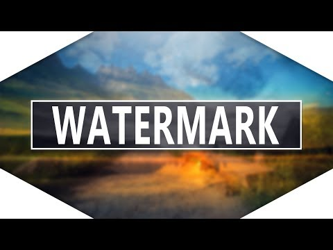 How To Make A Professional Watermark In Photoshop CC/Cs6/Cs5!!