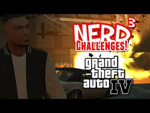 Nerd³ Challenges! Survive Carmageddon - GTA IV