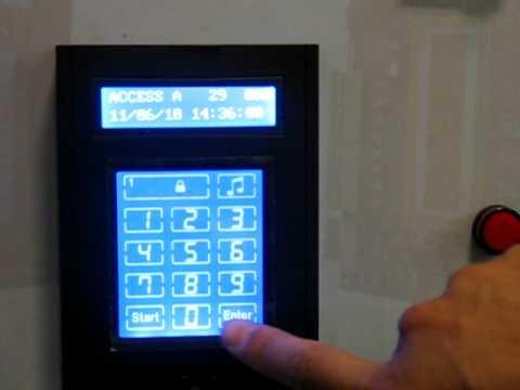 random keypad scramble access control reader from jlje youtube. Black Bedroom Furniture Sets. Home Design Ideas