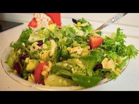 Салат из авокадо с яйцом и помидорами / Невероятно вкусный салат!