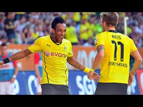 Pierre-Emerick Aubameyang - Speed Fighter - Borussia Dortmund 2013/14 HD