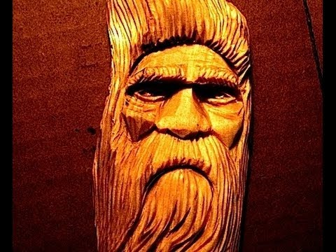 Full wood spirit carving tutorial by d how to How to carve designs in wood