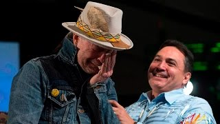 Emotional Gord Downie honoured by AFN