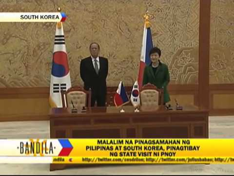 PNoy compares South Korean president to Cory