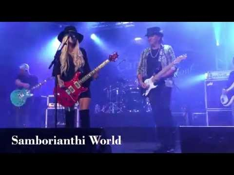Orianthi & Richie Sambora - When Love Comes To Town/Black Or White - The Canyon Club, Sep. 15, 2016