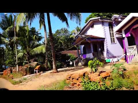 Colva, Varca, roads, byke, GOA, (1080HD)