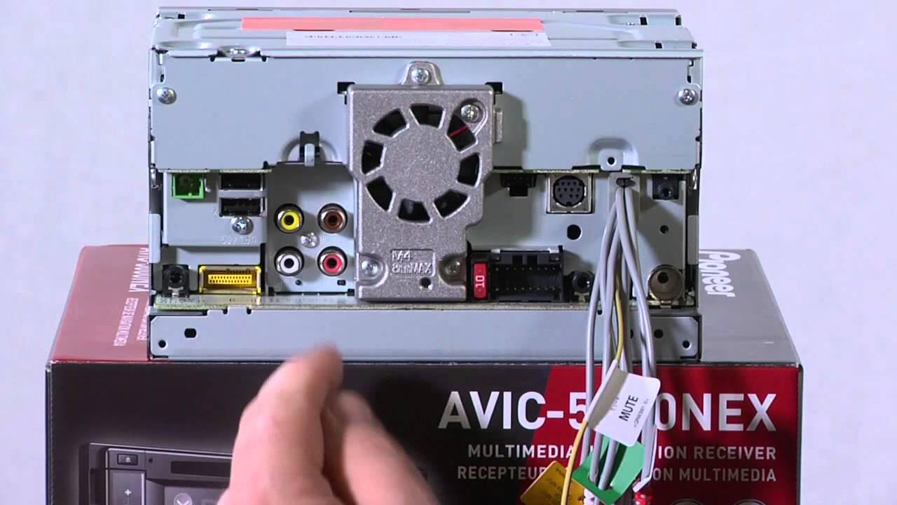 Avic-5000nex - What U0026 39 S In The Box