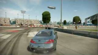 NFS Shift 2 Unleashed The Perfect Drift Infiniti G37 [HD]