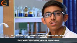 Indian Students at Gazi Medical College, Khulna, Bangladesh