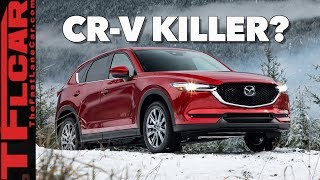 At Last! The 2019 Mazda CX-5 Turbo Gets a Turbo! (Snowy First Drive Review)