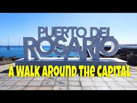 A walk around Puerto del Rosario, the capital of Fuerteventura