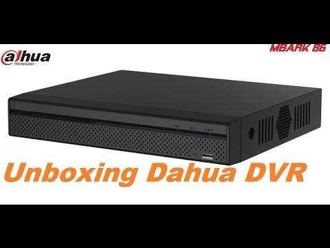 Unboxing Dahua DVR 4 channel