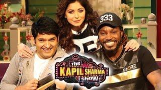 Chris Gayle   Mika Singh   Kanika Kapoor at The Kapil Sharma Show   29th May 2016 Episode