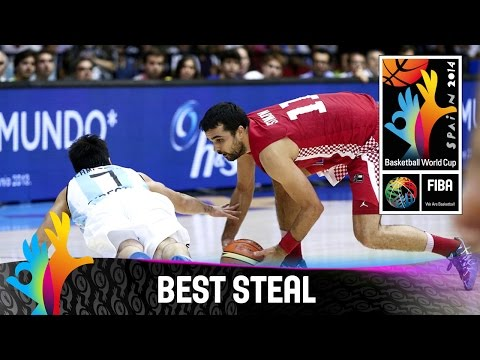 Argentina v Croatia - Best Steal - 2014 FIBA Basketball World Cup
