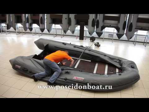 Как собирать лодку пвх антей