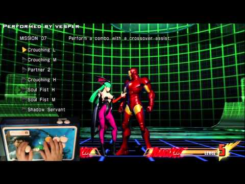 Marvel vs Capcom 3 Missions - Morrigan