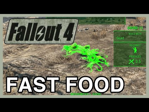 Fallout 4 Fast Food & Quick Start Farming Guide | WikiGameGuides