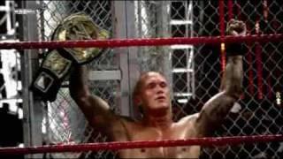 WWE Bragging Rights - Orton vs Cena Iron Man Match