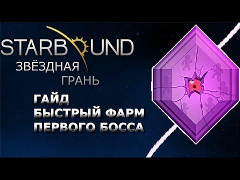 Starbound Гайд. Быстрый фарм первого босса