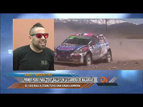 Doble podio para el CEO Rally Team
