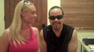 Ice-T and Coco At Suddenly Slimmer Day Spa Phoenix AZ