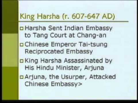 Asian Civilization-Part09-King Harsha (600 - 647 AD)