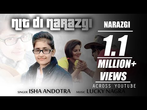 Isha Andotra   Narazgi   (Full Cover)   Lucky Nagra   Latest Punjabi Songs 2017