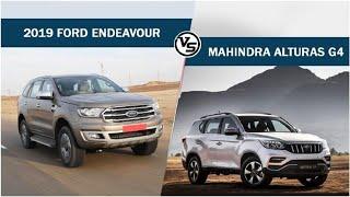 2019 Ford Endeavour Vs Mahindra Alturas G4 | CAR NEWS 2019