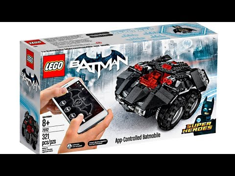 LEGO Batman 2018 Summer App Controlled Batmobile set pictures!