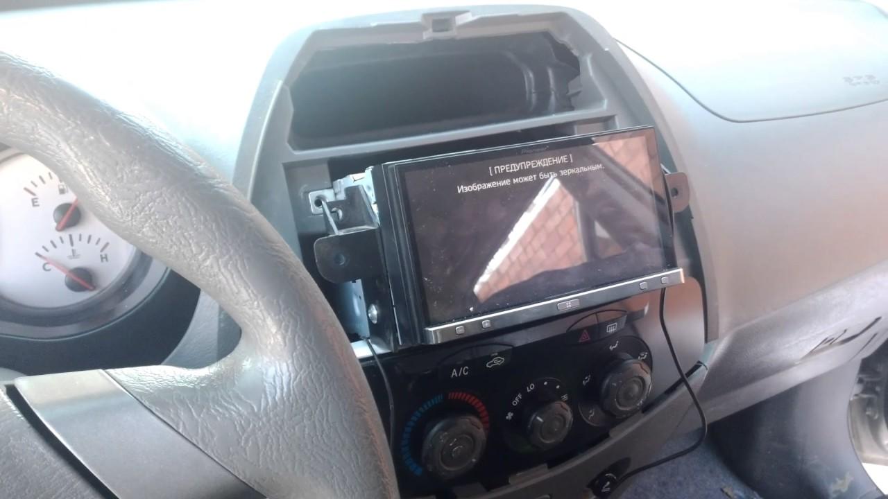 Установка камеры заднего вида на чери тигго своими руками 35