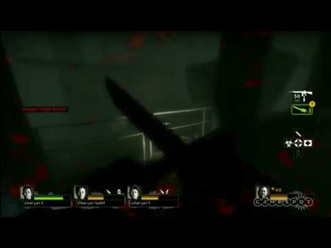 Left 4 Dead 2 FULL Hard Rain Campaign Interview + Hard Rain Scavange Mode + Gameplay+ CHAINSAW HQ