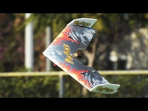 New Tech One RC Pop Wing Flight Review