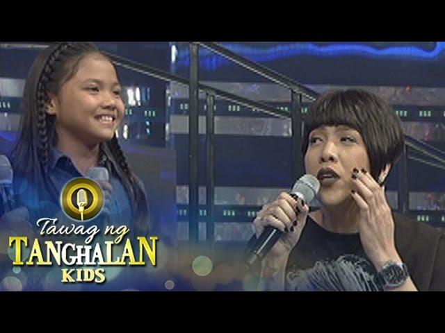 Tawag ng Tanghalan Kids: Vice is afraid of chicken