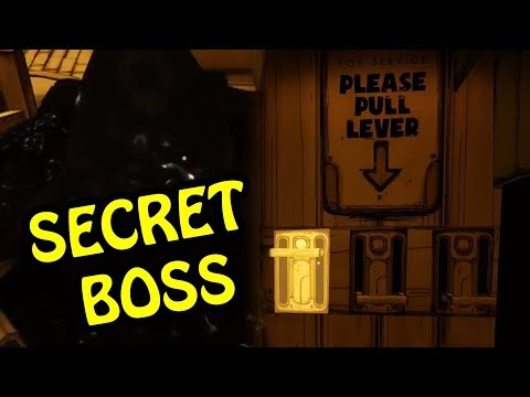 NEW SECRET BOSS FIGHT | BENDY AND THE INK MACHINE CHAPTER 3 - NEW UPDATED