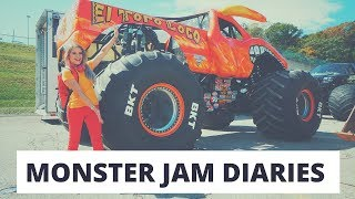 MONSTER JAM DIARIES - MY DEBUT