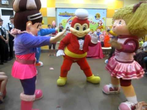 Jollibee, Popo, Twirly, Hetty, Yum Dance Together On My Daugther Ainney Birthday video