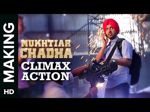 Mukhtiar Chadha Making | Action Sequence | Diljit Dosanjh