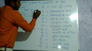 & super trick of indian constitution bharat k samvidhan ki 12 anusuchiya with super trick.