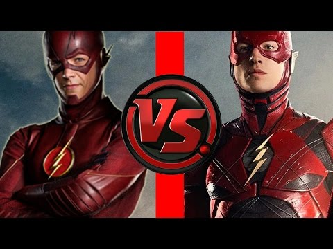 Flash VS Flash | Ezra Miller Flash vs Grant Gustin Flash | Who is FASTER?!