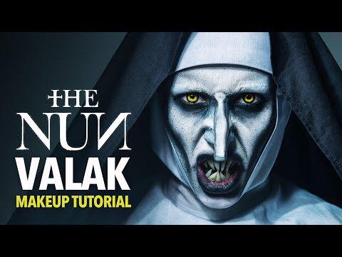 The nun - Valak makeup tutorial