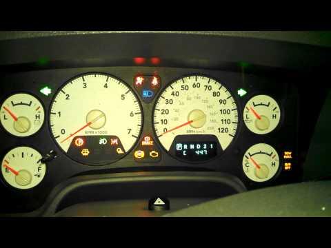 06 Dodge Ram faulty tachometer