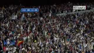 Goal Cristiano Ronaldo vs Atletico Madrid Arab  commentator