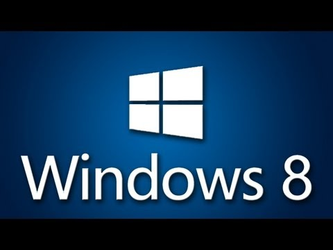 Install Windows 8 from USB