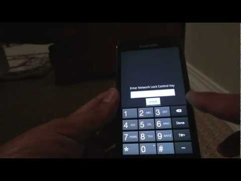 How to unlock Samsung Galaxy S II HD LTE SGH-i757M by Unlock Code