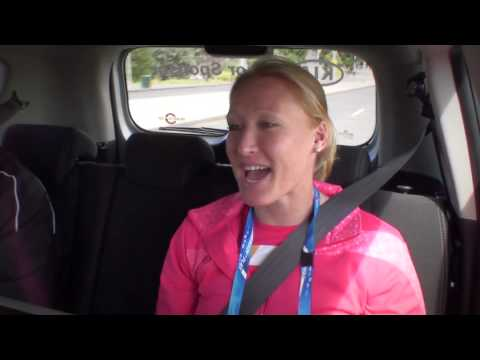 Elena Baltacha -- The Open Drive: Australian Open 2012 brought to you by Kia